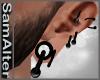 Plug Ears Black negros