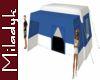 MLK Blue Square Tent