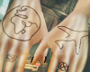 hands tatto