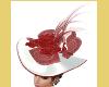 ELEGANT CLASSY RED HAT