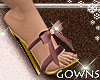 Heels - mauve bow