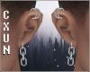 Link Earrings L+R M