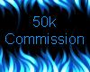 50k Commission Sticker