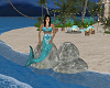 Mermaid on the rocks