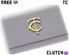 ® Tc. Ligth Grey Clutch