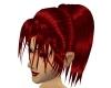 RED BLACK hair!!
