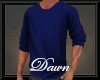 Blue Winter Sweater