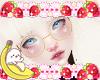 S! White Rabbit Glasses
