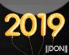 2019 Orange Balloon