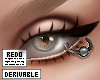 derive   eyelid piercing