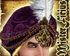 Sultan Turban Purple