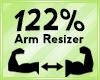 Arm Scaler 122%