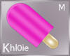 K Popsicle pink mouth M