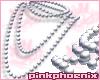 Socialite White Pearls T