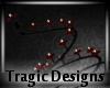 -A- Goth Spiral Candle