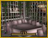 Romantic corner couch