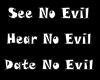 No Evil Sticker