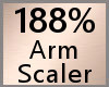 188% Arm Scaler, F A