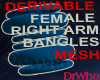 Fem Rgt Arm Bangles Mesh