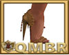 QMBR Bronze Rose Heels
