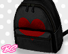 |bc| Blk Heart backpack