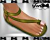 Sage Green Sandals
