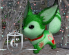 Christmas Fox Head