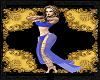 Alluring slave dance