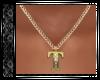 Gold T Necklace SR