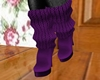 Warm Winter Boots-Purple