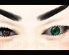 Green Left Eye