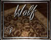 (SL) Wolf Rectangle Rug