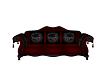 Dark gothic couch