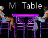 """""""M"""" Club Table for 4"""