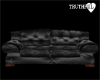 ~TRH~BLK LEATHER COUCH