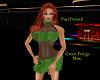 PP|Green Fringe Mini
