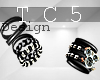 Black bangles & watch