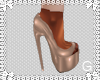 G l Angelic Taupe Heels