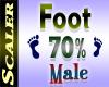 Foot Resizer 70%