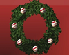 WREATH WITH SITTING POSE