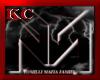$KC$ Mafia hat Wht/Gold