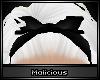 !M Do-Rag Bow Black