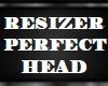!   RESIZER PERFECT HEAD