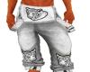{M}White Tiger Jeans *M*