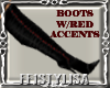 ! Witch Boots Red