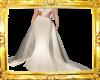Cream Silk Gown