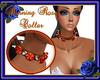 Burning Roses Collar