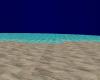 Empty evening beach