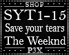 P- Save Your Tears