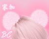 pink sugar hair puffs